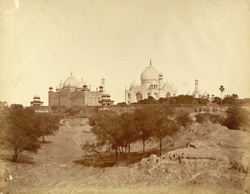 No. 11. Taj of Agra from the land side.